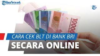 Bisa Secara Online, Berikut Cara Cek Penerima BLT UMKM Senilai Rp1,2 Juta di Bank BRI