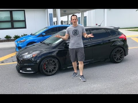 When is STOCK just NOT enough? 350HP 2016 Ford Focus ST - Raiti's Rides
