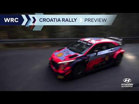 WRC 2021 第3戦ラリー・クロアチア ラリー直前のヒュンダイチームのプレビュー動画