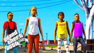 BAD KIDS ON THE BLOCK 4 (GTA 5 SKIT)