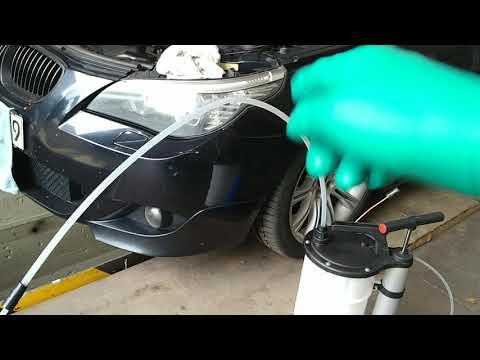 Ölabsaugpumpe, Ölabsaugen mit Unterdruck