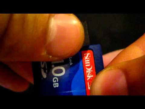Fix A Permanently Locked SD Card With Scotch Tape