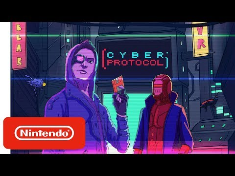 Cyber Protocol - Launch Trailer - Nintendo Switch thumbnail