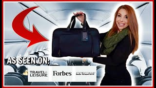 Best Underseat Carry-On Luggage (Recommended by a Flight Attendant)