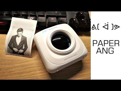 ᕕ( ᐛ )ᕗ  PAPERANG P1- Winziger Bluetooth Drucker für unterwegs - Moschuss.de