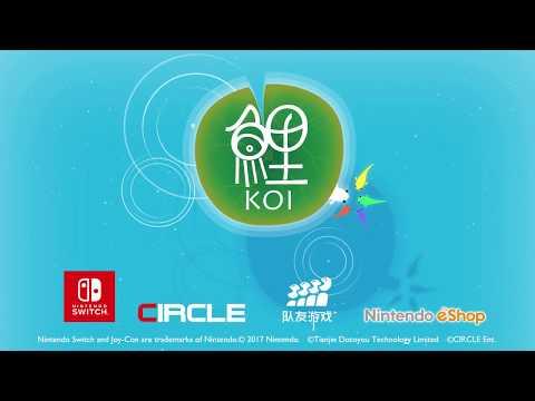 Nintendo Switch eShop Game Koi DX Game Trailer thumbnail