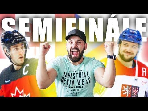 KANADA - ČESKO   SEMIFINÁLE  MS v hokeji 2019