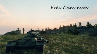 Free Cam mod for WOT 9.4