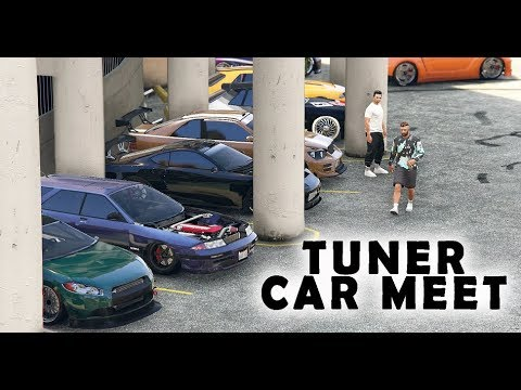 TUNER CAR MEET IN GTA 5 ONLINE
