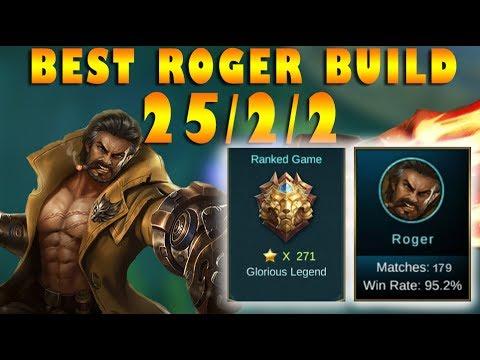 Mobile Legends Best Roger Build 25/2/2