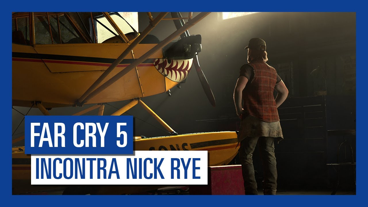 Far Cry 5 - Incontra Nick Rye