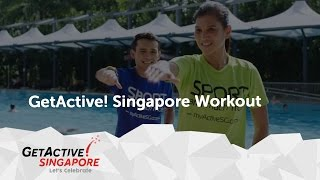 Gambar cover Tomorrow's Here today   National Day Parade 2016 theme Song   GetActive! Singapore 2016 workout