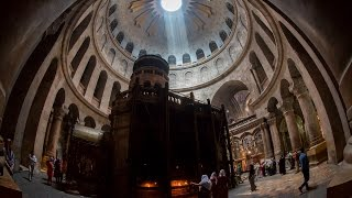 The Empty Tomb At The Church of The Holy Sepulchre