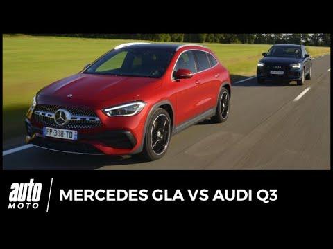 Audi Q3 vs Mercedes GLA : petits et grands