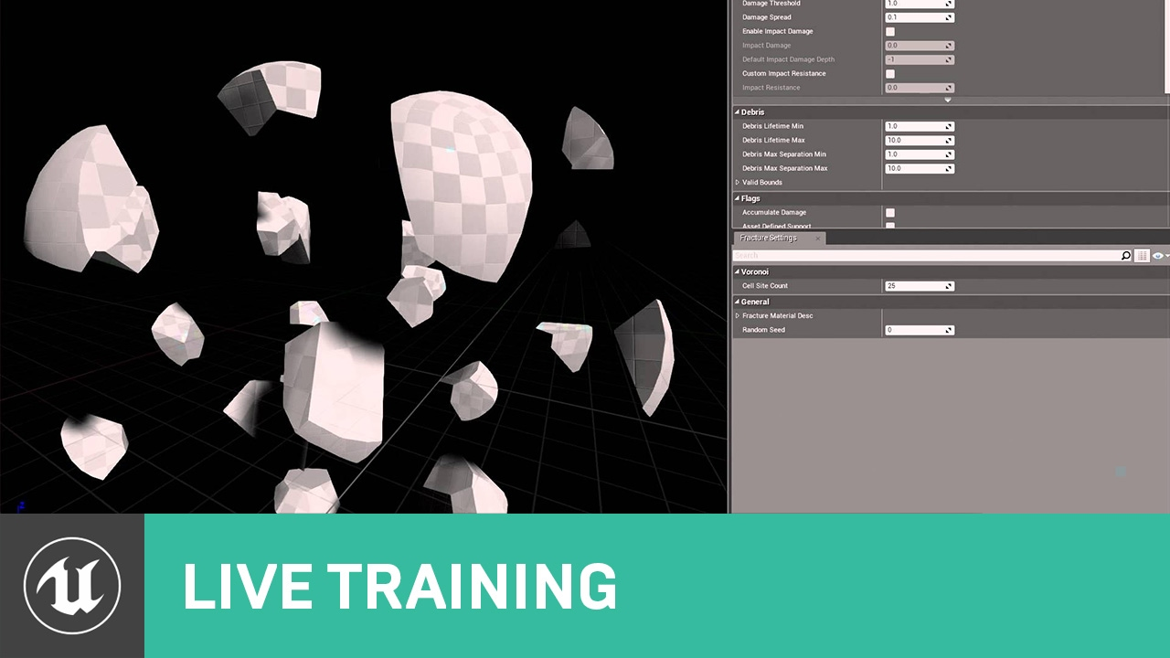 Making a Destructible Mesh | Live Training | Unreal Engine