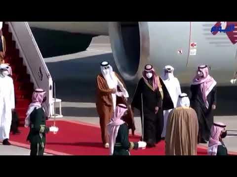 أول كلمات من ولي العهد لأمير قطر :