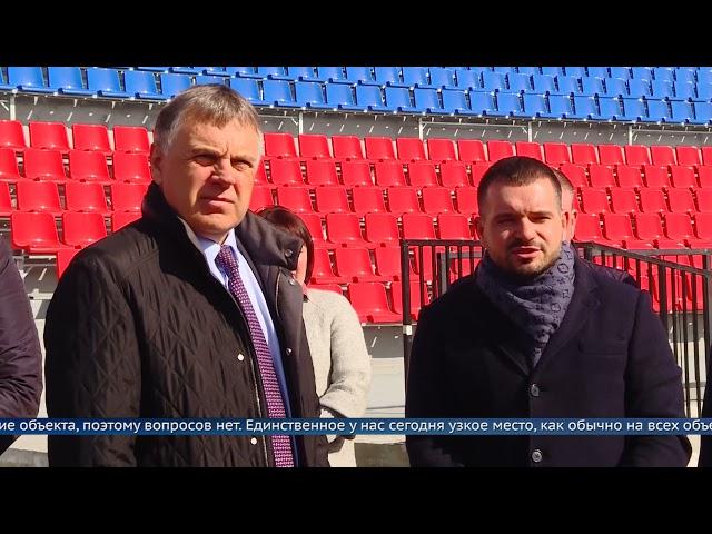 Сергей Петров проверил ремонтные работы на «Ангаре»
