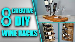 DIY Wine Racks - How To Build Your Own Wine Rack - Youtube