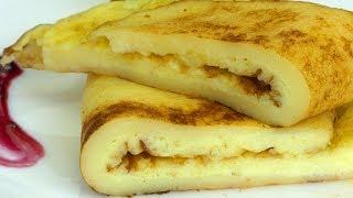 Омлет и сладкий вкус совместимы! Нежный и сытный омлет с манкой - вкуснее не бывает! | Appetitno.TV