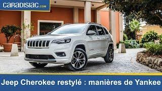 Essai - Jeep Cherokee Restylée : Manières De Yankee