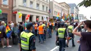 preview picture of video 'Baltic Gay Pride Vilnius 2013 (beginning)'