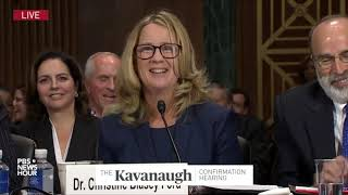 Watch Rachel Mitchell's complete questioning of Christine Blasey Ford, without interruptions