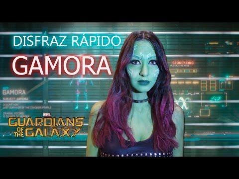 Disfraz casero fácil, barato y rápido  - Gamora de Guardianes de la Galaxia