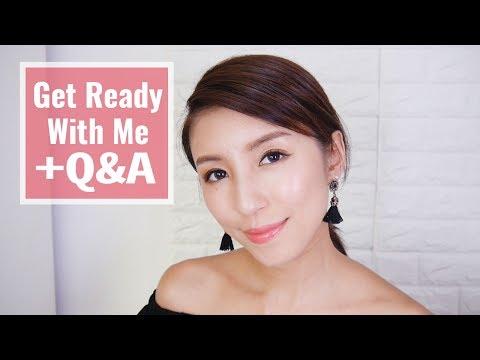 GRWM + Q&A 日常妝容+新入手彩妝+問與答