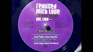 gladys knight and the pips - taste of bitter love - joey negro disco re-blend (Z  Records)
