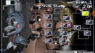 Mi Primer Video Five Nights At Freddy's  2 Noche 1