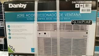 Costco! Danby 12,000 BTU Window Air Conditioner /w Ionizer! $239!!!