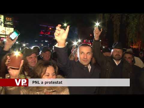 PNL a protestat