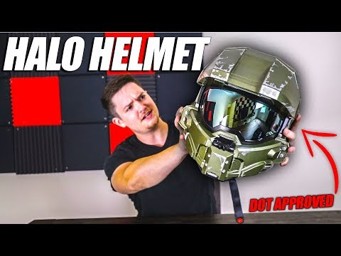 This Halo Motorcycle Helmet Is...AWFUL