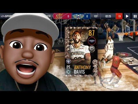 GETTING 87 OVR HALLOWEEN MASTER ANTHONY DAVIS! NBA Live Mobile 19 Season 3 Ep. 15