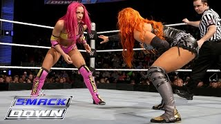 Becky Lynch vs. Sasha Banks: SmackDown, March 3, 2016