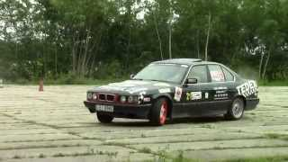 preview picture of video 'XVIII Rally Mińsk Mazowiecki 2014, Załoga nr 21'