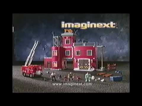 2001 Imaginext Rescue Station Commercial