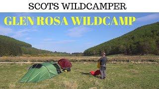 Explore Scotland wild camping Isle of Arran Glen Rosa Scotland Nordisk Halland 2 LW