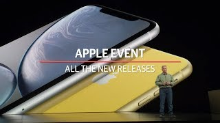 Apple event: All the new releases