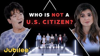 6 U.S. Citizens vs 1 Secret Non-Citizen