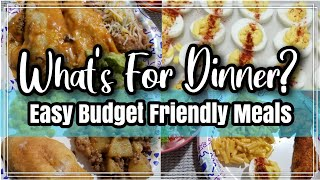 What's For Dinner?   Easy Budget Friendly Meals   Family Meals