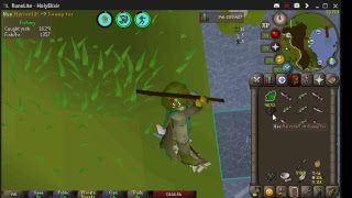 barbarian fishing osrs 3 tick - TH-Clip