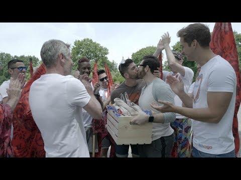Max Emerson and the Flaggots crash John and Michael's beautiful wedding party