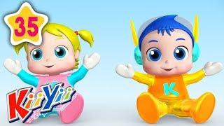 New Baby Brother And Sister Song | Plus More Nursery Rhymes | by KiiYii | Baby Songs & Kids Songs