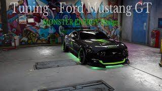 Need for Speed Payback - Tuning #001 Ford Mustang GT Monster Energy