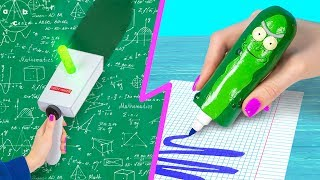 10 DIY Rick and Morty Office Supplies!