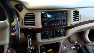 CHEVY IMPALA Radio no sound and no door chime FIX vid1