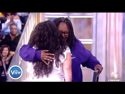 Whoopi Chats Donors Choose - The View
