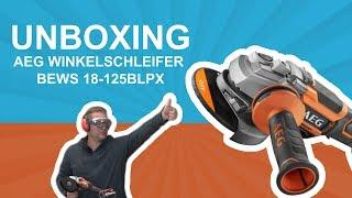 AEG Winkelschleifer BEWS 18-125 BLPX | dach-holz.tv