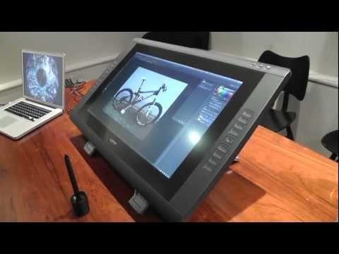 Wacom Cintiq 22HD hands-on   Engadget